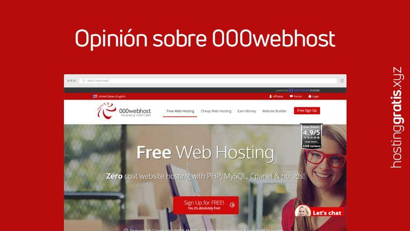 Opinión de 000webhost
