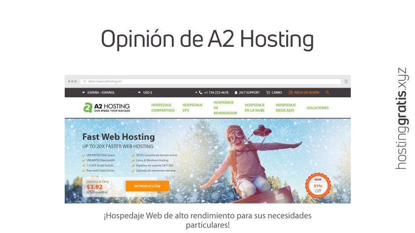 Opinión de A2 Hosting