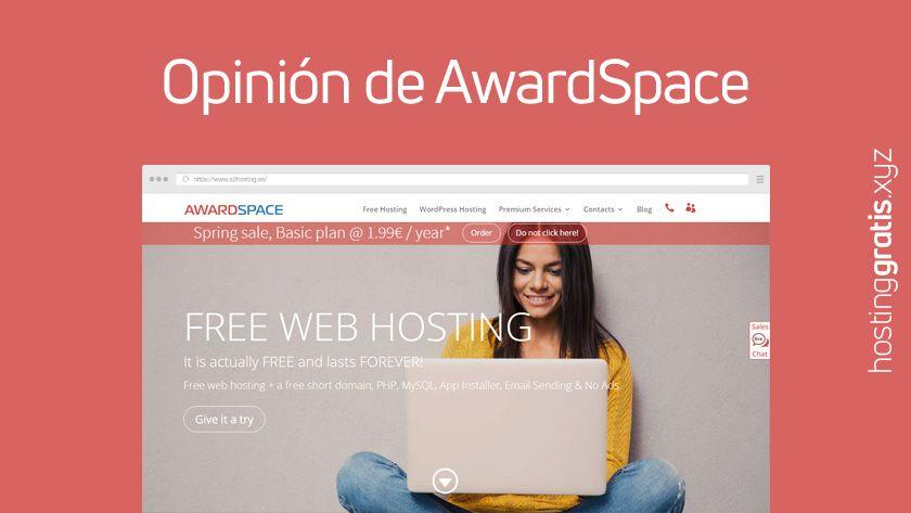 Opinión de AwardSpace