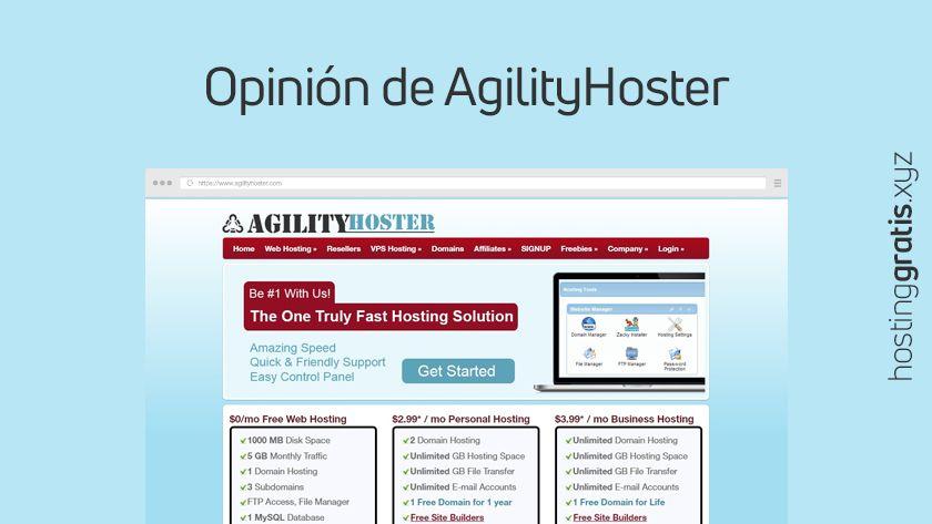 Opinión de AgilityHoster