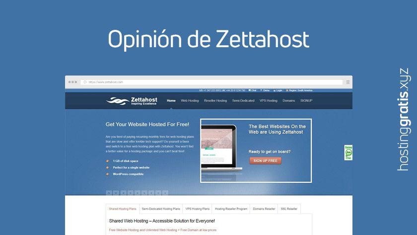 Opinión de Zettahost