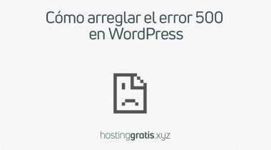 Cómo arreglar el error 500 (error interno del servidor) en WordPress