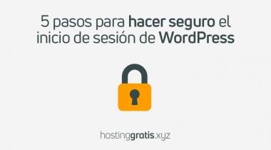 5 Pasos para proteger la pagina de inicio de sesión de WordPress