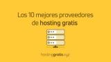 Los 10 mejores sitios de hosting web gratis